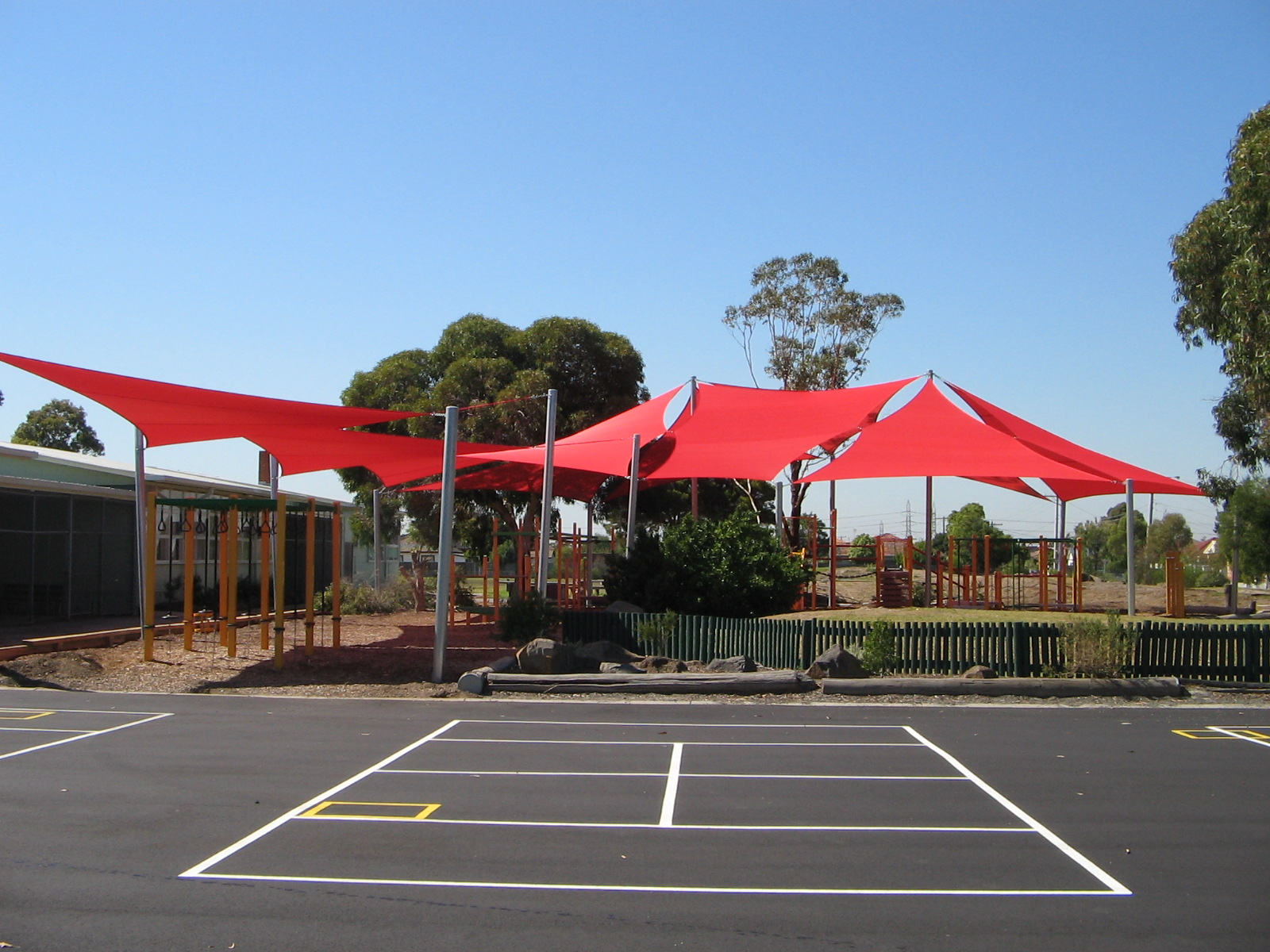 Ardeer PS Shade Sail