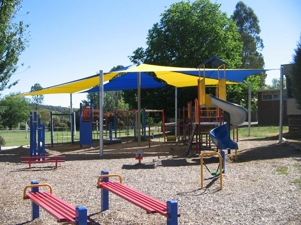 Beaufort PS Shade Sail over Playground