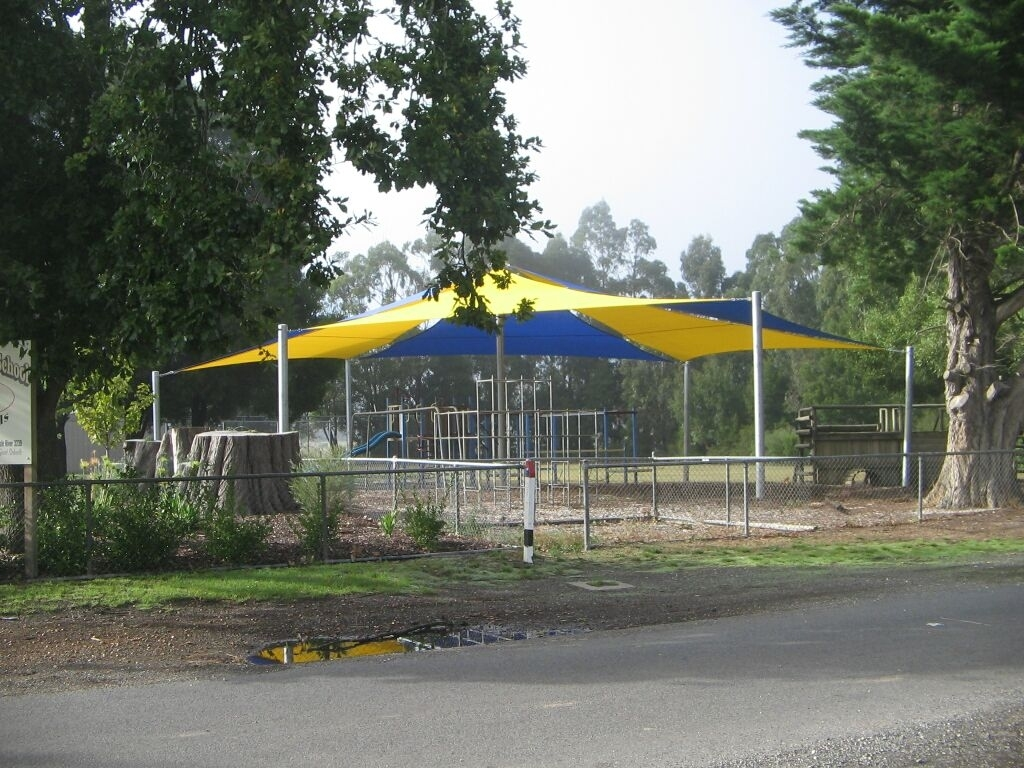 Carlisle River Playground Shade Sail