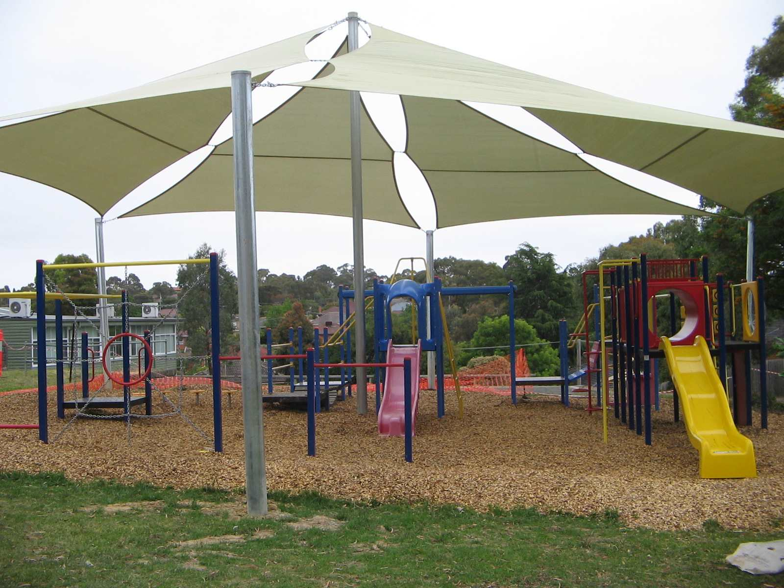Blackburn Kinder Playground Shade Sail