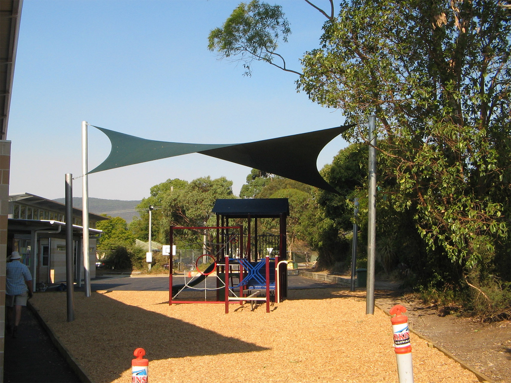 Kent Park PS shade sail playground