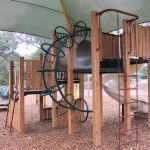 children, kids, explore, fun, playground, playspace, play space, coongulla community centre, wellington shire, climb frame