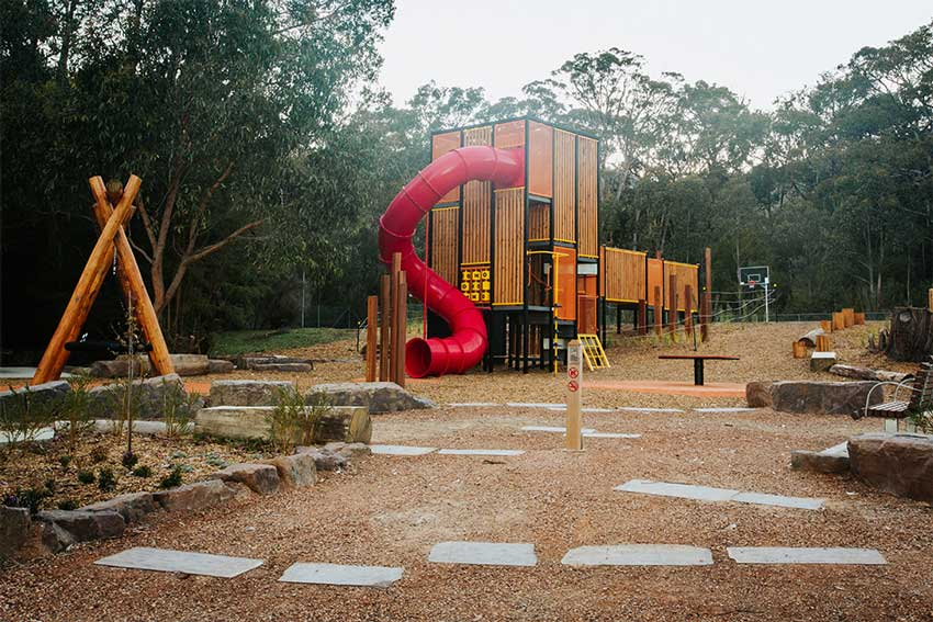 wesburn, children, kids, explore, fun, playground, playspace, play space, reserve, footy ground, football, cricket, toilets, sitting area, yarra valley