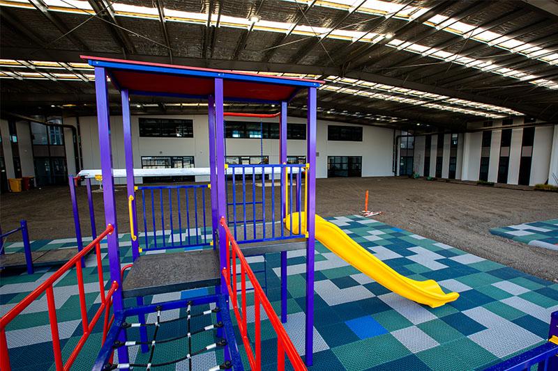 net bridge, sirius college, dallas campus, activity playgrounds, school, kids, playground, older kids, large, big, melbourne, victoria, australia, obstacle, course, ninja, warrior, adventure