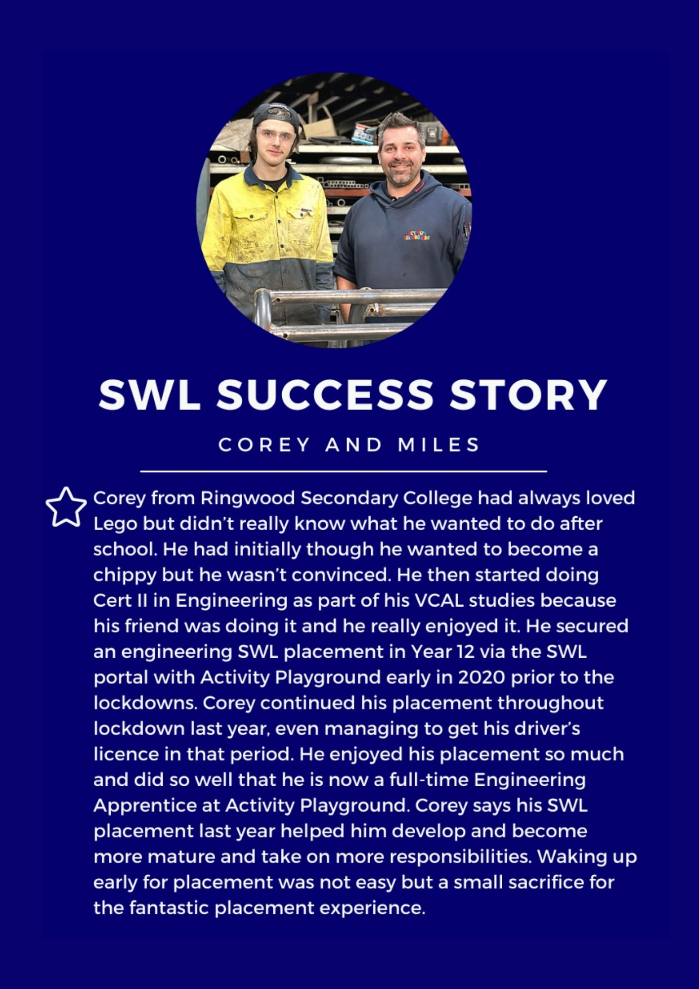 Newsletter Feature – SWL Success