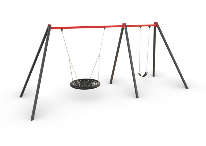 activity, playgrounds, birds, nest, single, swing, steel, melbourne, victoria, australian, made, set, manufacturer