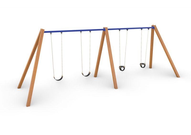 Quadruple Swing – Timber