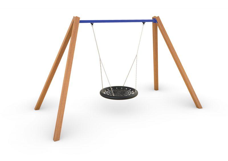 Birds Nest Swing – Timber